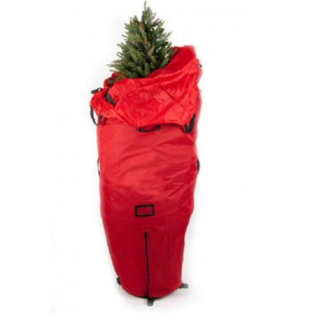 7 green heavy duty upright artificial christmas tree storage bag for 6