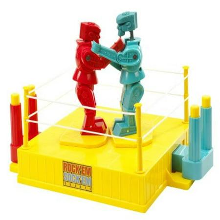 35TH Anniversary Rock 'em Sock 'em Robots Game (Discontinued by manufacturer) (Sock Hop Games)