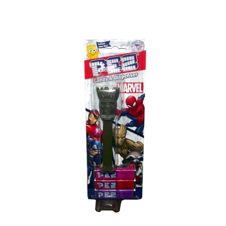 Marvel Guardians of the Galaxy Groot PEZ Dispenser with Candy Pack, 1 count