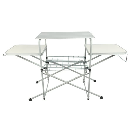 Ozark Trail Camp Kitchen Cooking Stand With Three Table
