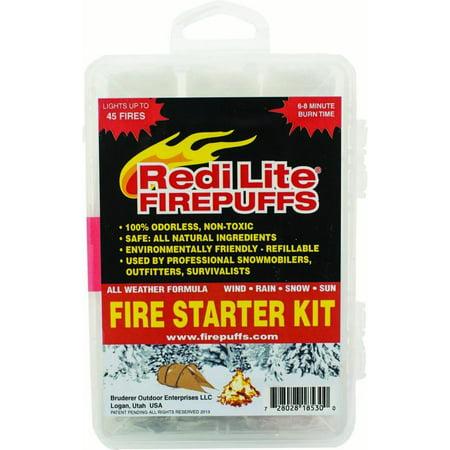 Redi Lite Firepuffs Fire Starter Complete Kit - Lite Starter