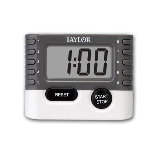 Taylor Classic 10 Key Digital Timer (Set of 6)