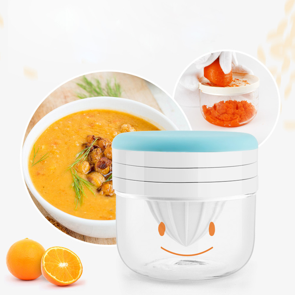 Baby Food Mill Manual Grinder Fruits and Vegetables Steam Bowl