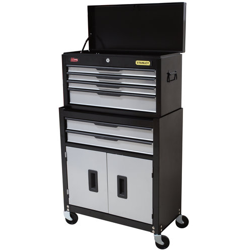 Stanley 5-Drawer Chest and Cabinet Combo - Walmart.com