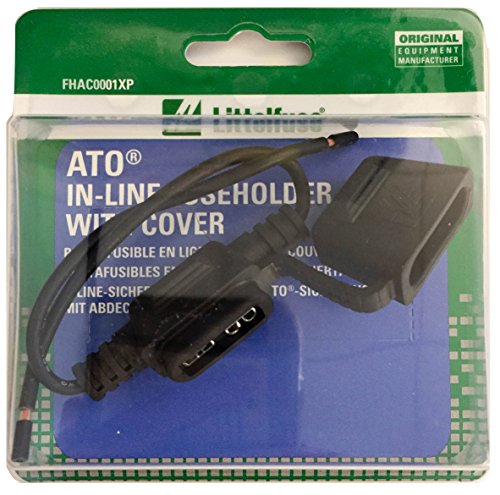 Littelfuse FHAC1BP ATO Fuse Holder with Cover