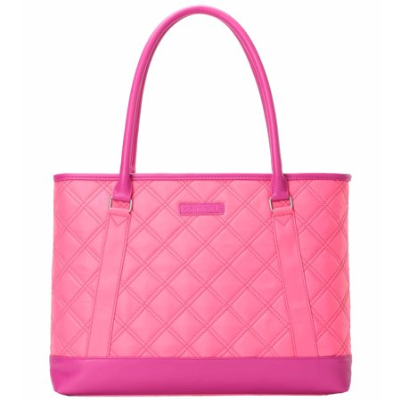 Kingsons Best In Class Vogue Series 15 6 Laptop Shoulder Bag  K8994w  In Pink