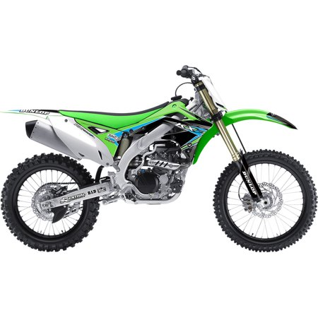 FLU Designs Pro Team Series 2 PTS2 Graphics Kit For Kawasaki KX250F ...