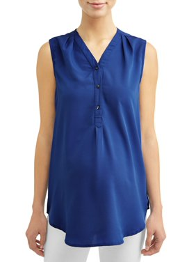 290e5856b44 Product Image Maternity Sleeveless V-Neck Top - Available in Plus Sizes