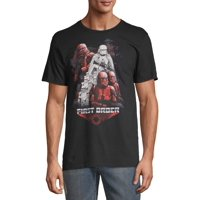 Star Wars The Rise of Skywalker Men's and Big Men's First Order Graphic T-shirt