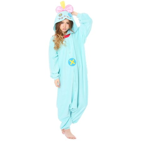 Lilo & Stitch Adult Scrump Kigurumi Onesie Costume](Stitch Costume)