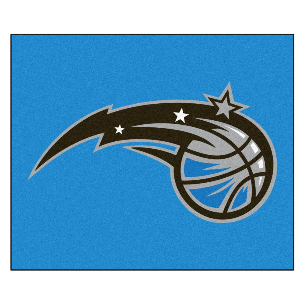 Orlando Magic Economy 5 Foot x 6 Foot Mat