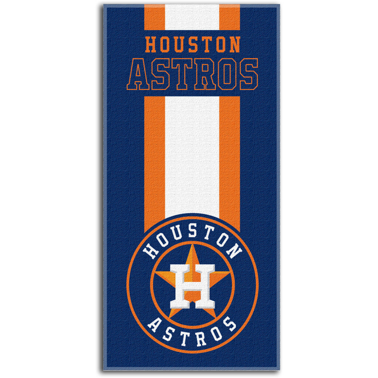 "MLB Houston Astros ""Zone Read"" 30"" x 60"" Beach Towel"