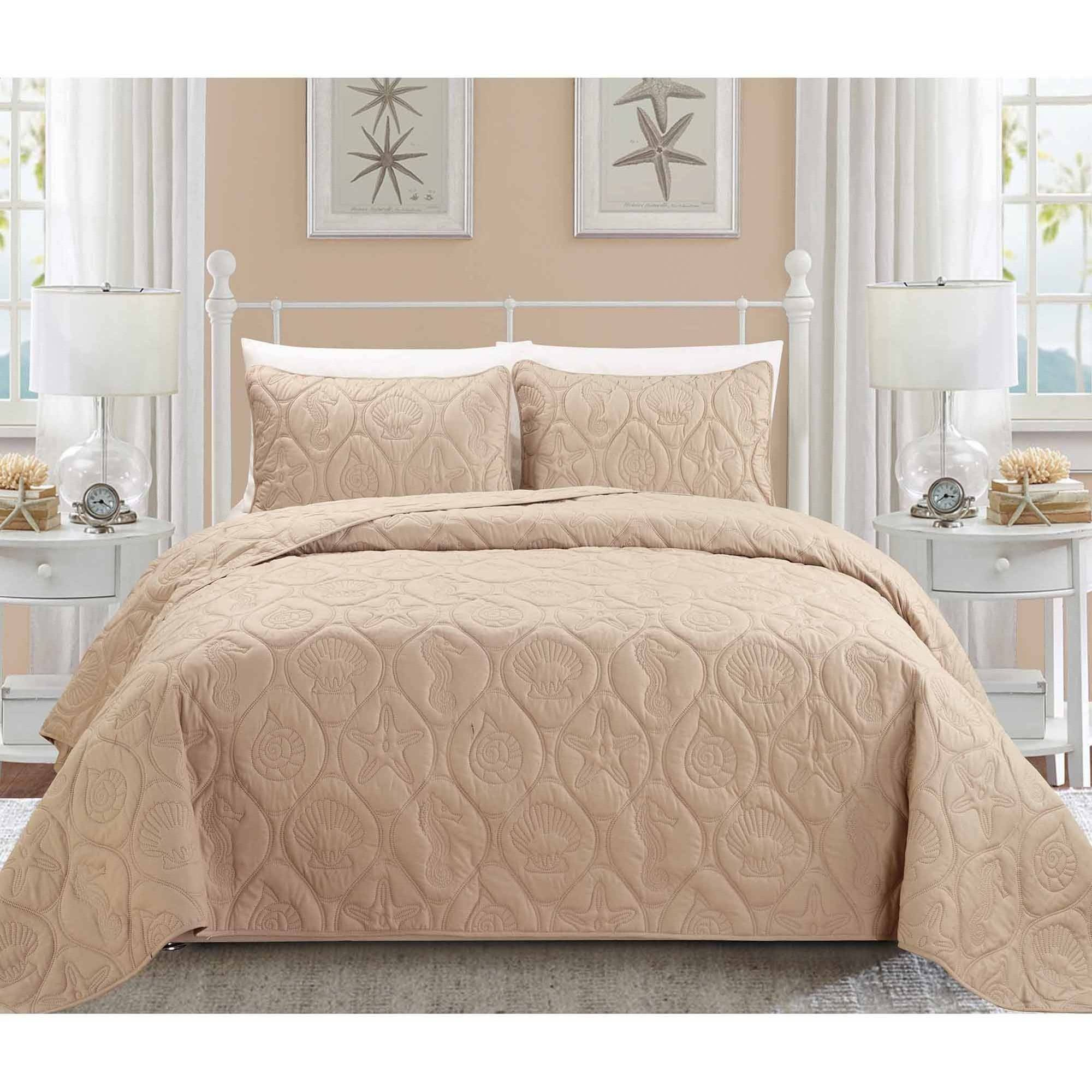 EverRouge Coral 3-Piece Bedding Set