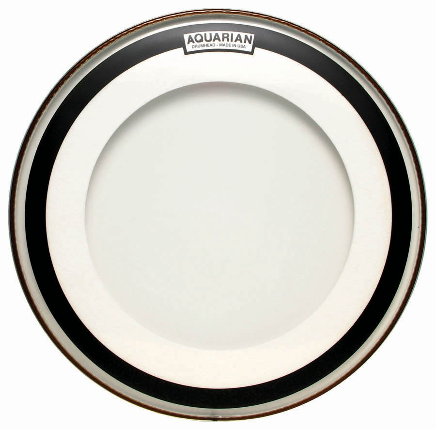Aquarian Drumheads IMPII22 Impact II Double Ply 22-inch Bass Drum Head Multi-Colored by Aquarian