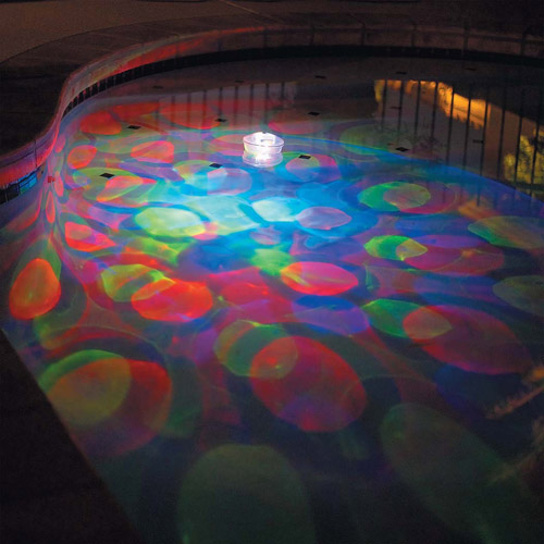 GAME Aqua Glo 5-Color Underwater Light Show Pool Light