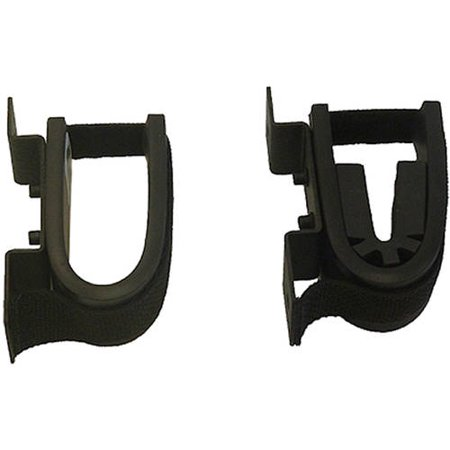 Gun Rack Accessories - RUGGED GEAR SCREW MOUNT GUN RACK BLACK STEEL UNIVERSAL