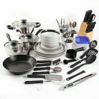 Deals on Gibson Home Essential Total Kitchen 83-Piece Combo Set