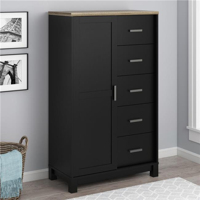 Ameriwood Home Carver Gentleman's Chest, Multiple Colors