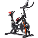 Indoor Cycling Exercise Bike with Heart Pulse, LED Display