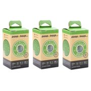 Poop Bags Recycled 9x13 Dog Waste Bags- Doggie Poop Bags, Eco-Friendly on a Roll