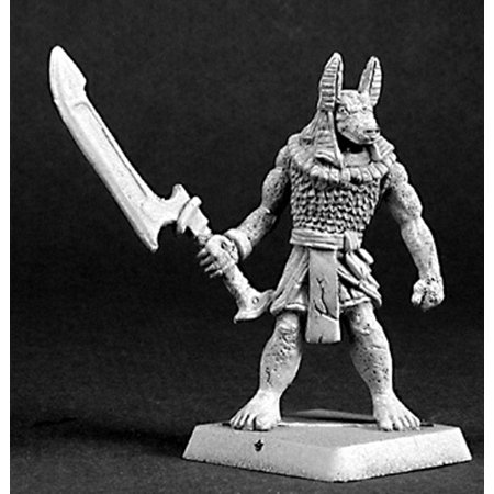 Reaper Miniatures Anubis Guard #14390 Nefsokar Unpainted RPG D&D Mini Figure
