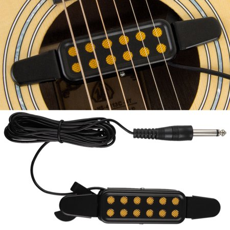 Guitar Pickup Soundhole Electric Transducer for Acoustic Guitar [1/4