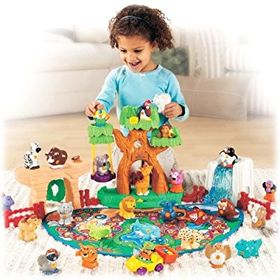 Fisher Price Little People A-to-Z Learning Zoo by