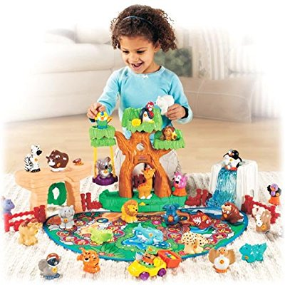 fisher price little people a to z learning zoo -