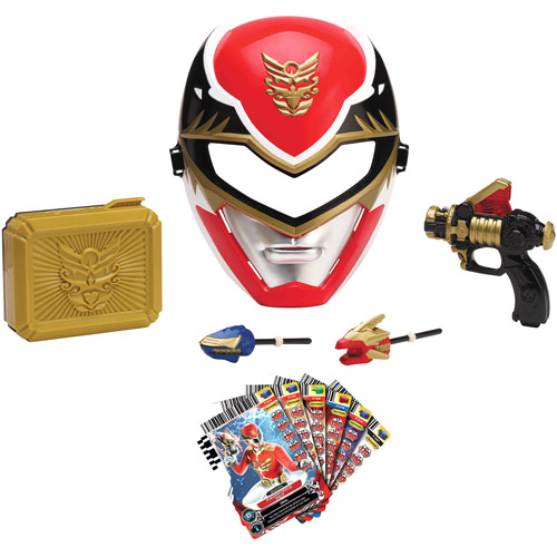 Power Rangers Red Megaforce Ranger Training Play Set