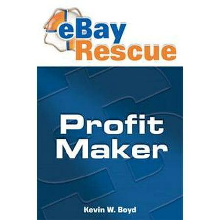 Ebay Rescue Profit Maker - eBook (Best Money Makers On Ebay)