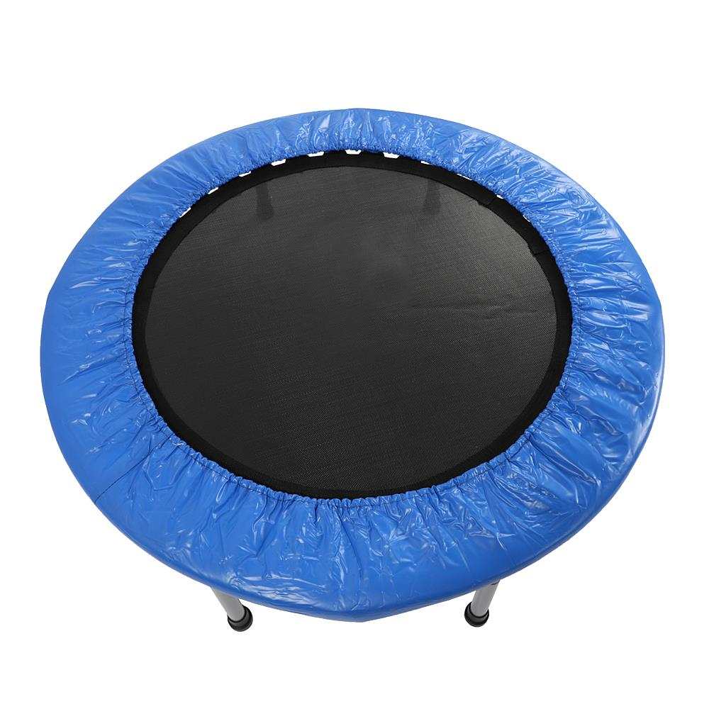 Ktaxon 38'' Safe Elastic Exercise Trampoline Workout w/ Padding & Springs for Kids