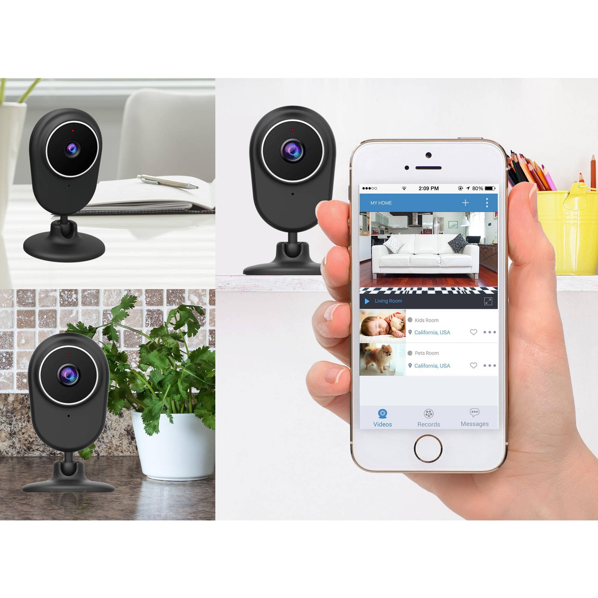 Momentum 720p WiFi Video Audio Monitoring Camera - Walmart.com