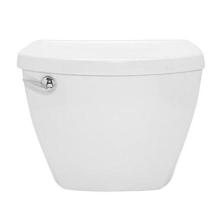 American Standard Cadet 3 1.28 GPF Single Flush Toilet Tank Only in White Crane Toilet Tank