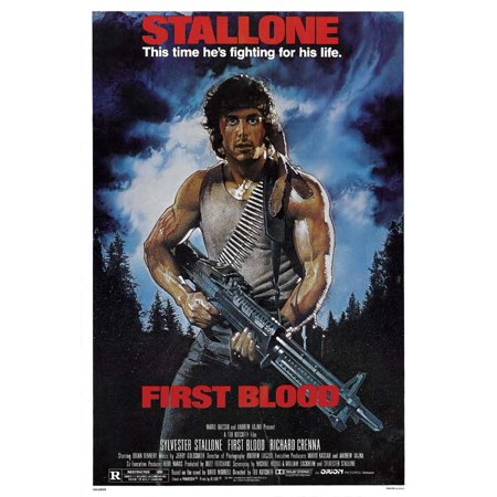 Rambo: First Blood (1982) 27x40 Movie Poster](Halloween 1982)