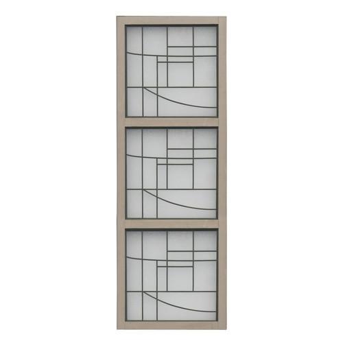Yardistry 3 High Faux Glass Panel