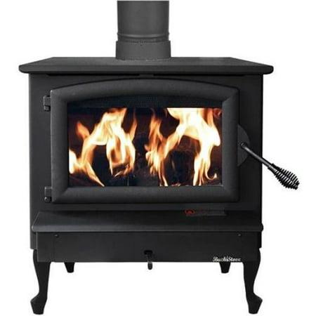 Buck Stove FP-21-G Non-Catalytic Wood Burning Stove w/ Gold Door Non Catalytic Wood