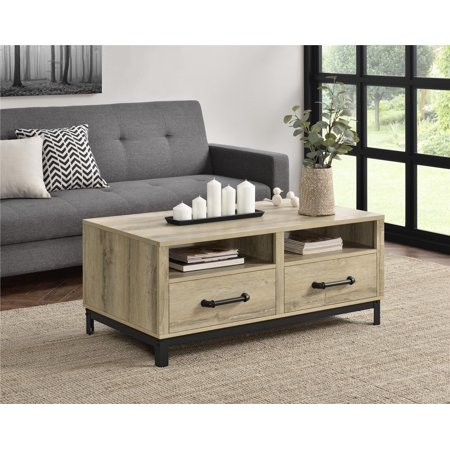 Ameriwood Home Paradox Coffee Table, Natural