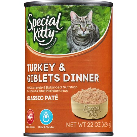 Special Kitty Classic Pate Turkey & Giblets Dinner Wet Cat ...