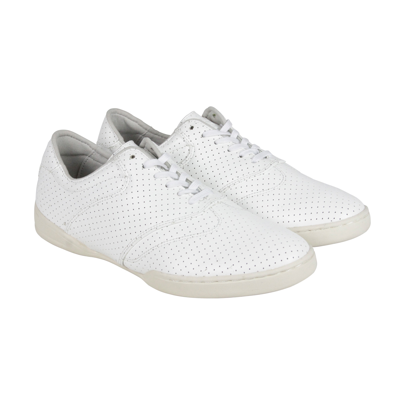 HUF - HUF Dylan Mens White Leather Lace