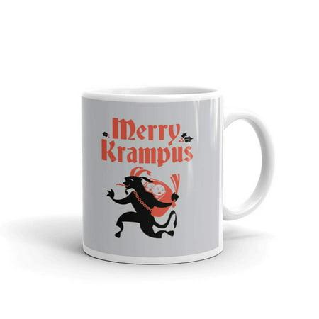 Merry Krampus Secret Santa Office Humor Funny Coffee Tea Ceramic Mug Office Work Cup Gift 11