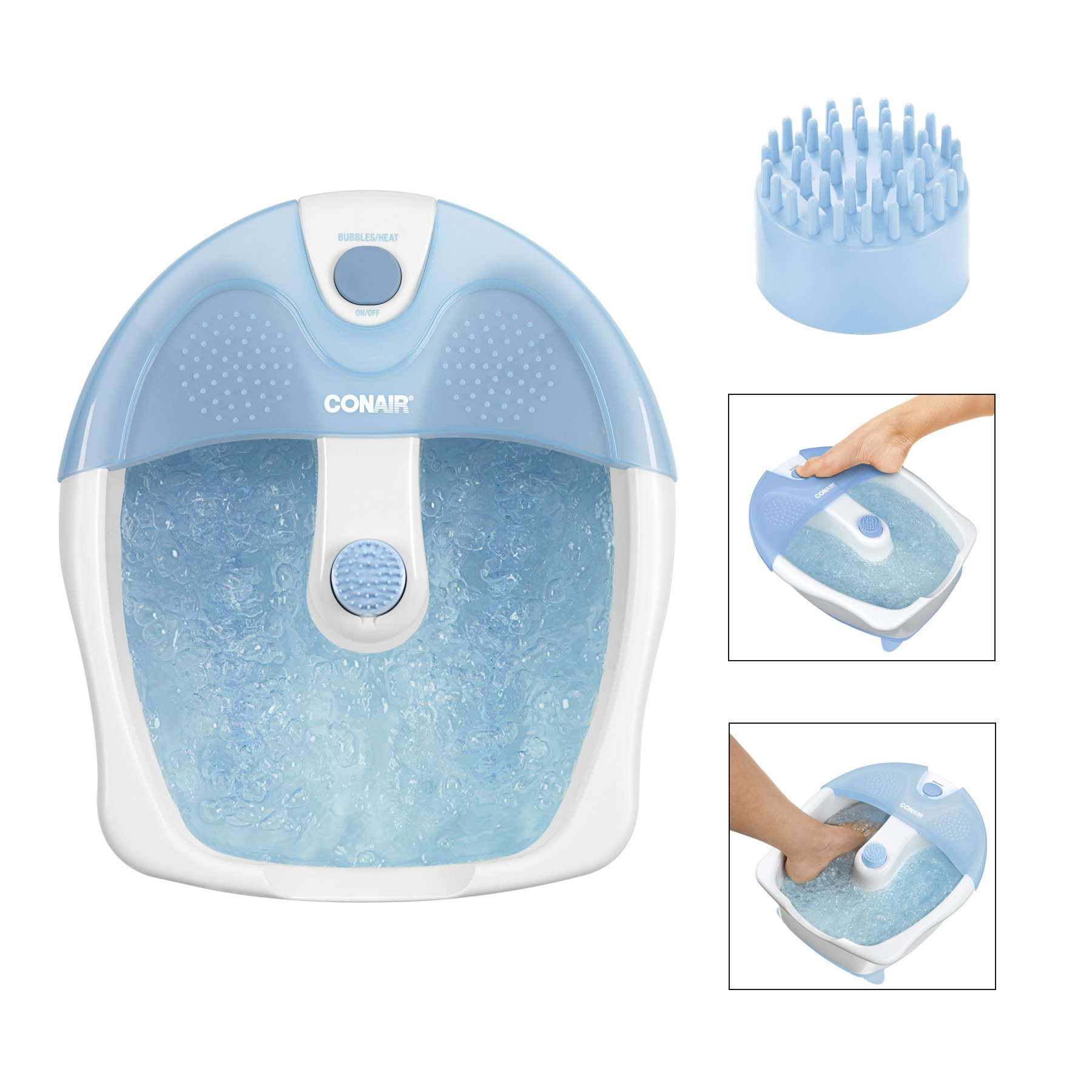 Conair Relaxing Footbath with Bubbles and Heat, Model FB5X - Walmart.com