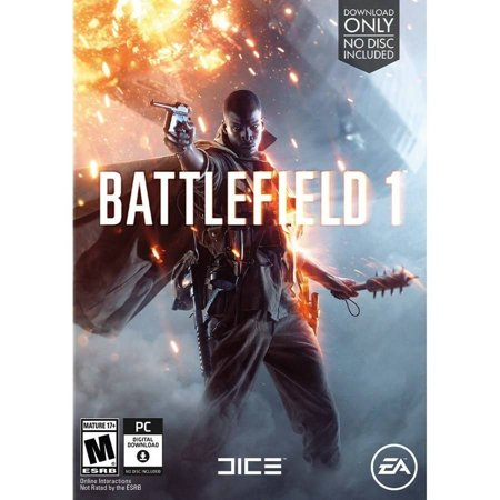 Battlefield 1, Electronic Arts, PC, 014633368666