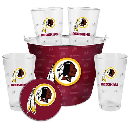 Boelter Brands NFL Gift Bucket Set, Washington Redskins by