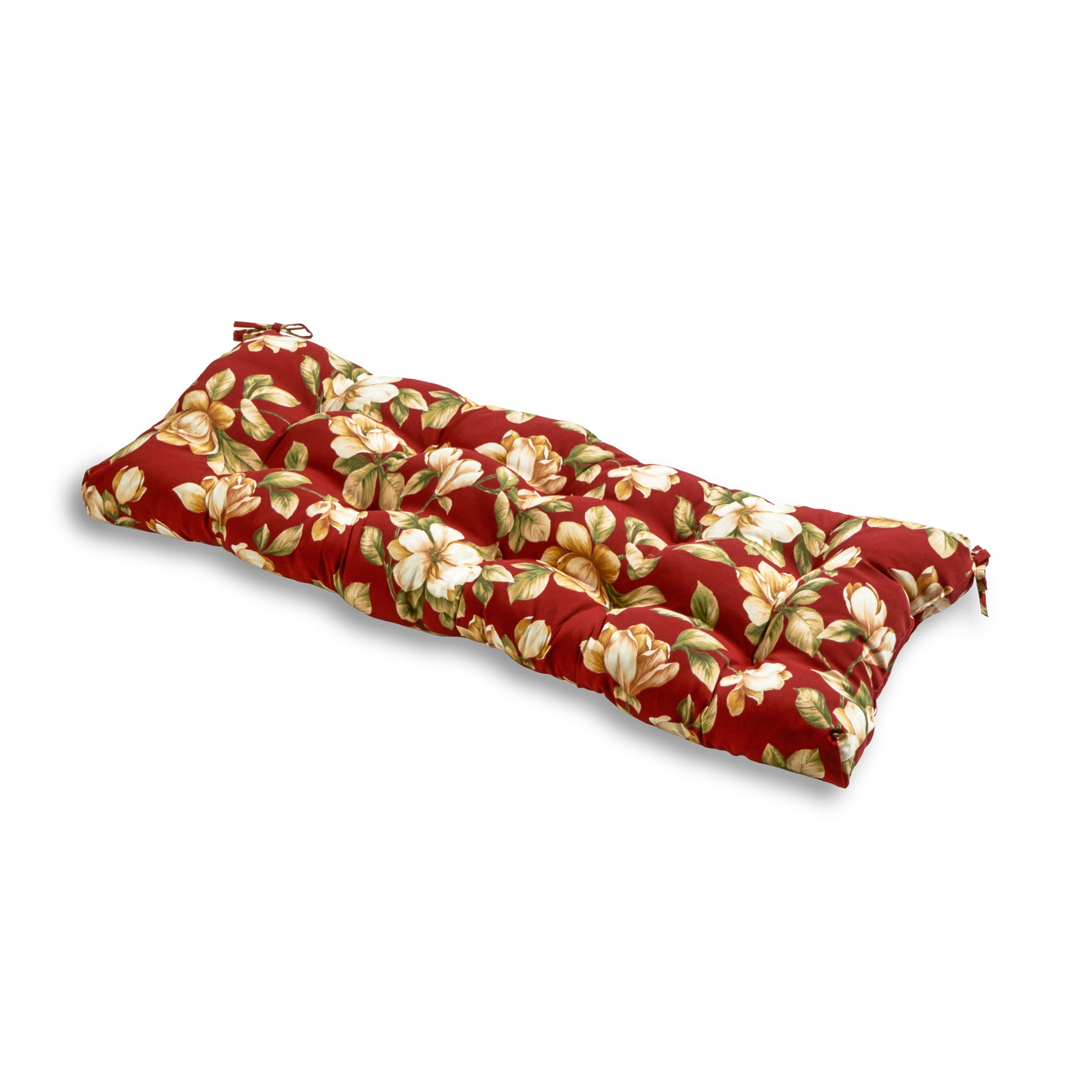 Roma Floral 51 x 18 in. Outdoor Bench Cushion