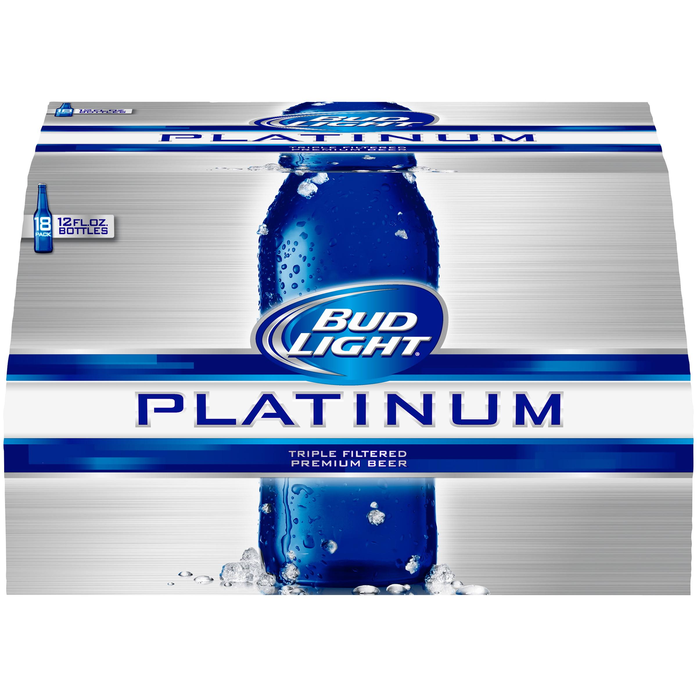Bud Light Platinum Beer pack fl oz Walmart