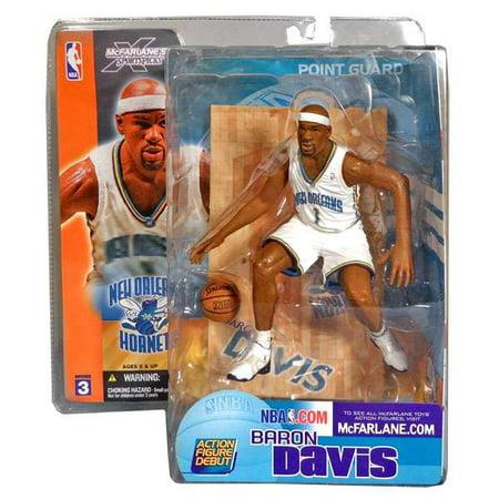 - McFarlane NBA Sports Picks Series 3 Baron Davis Action Figure [White Jersey]