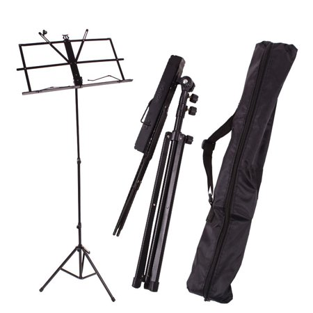 Handy Portable Adjustable Folding Music Stand with Bag
