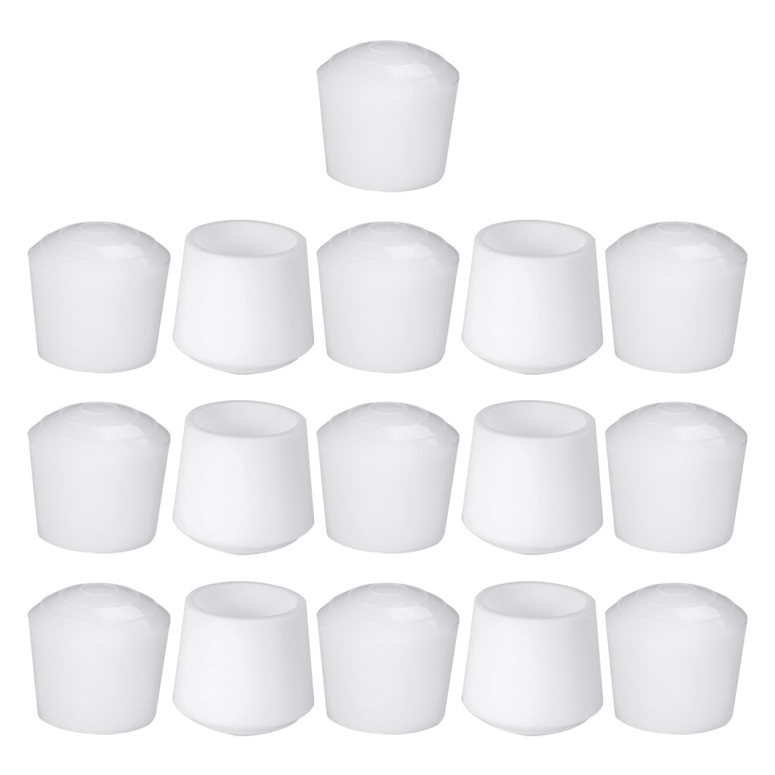 "Rubber Leg Cap Cups Feet Cover 32mm 1 1/4"" Inner Dia 16pcs for Furniture Desk - image 7 of 7"