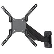FITUEYES Universal Tv Wall Mount for 19 32 40 45 55 inch LED LCD Plasma Flat Screen  with Full Motion Swivel  Arm FGS101M-SW