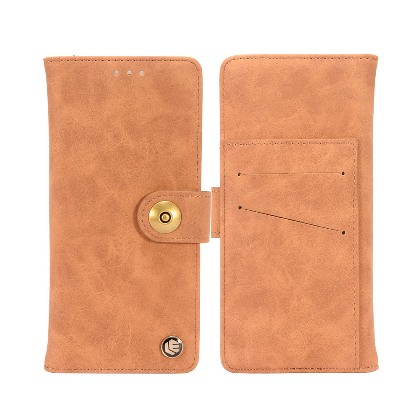 Brown Country Chic Detachable Magnetic Wallet Flip Case For Apple iPhone X Phone